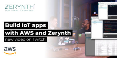 Build IoT apps with AWS and Zerynth