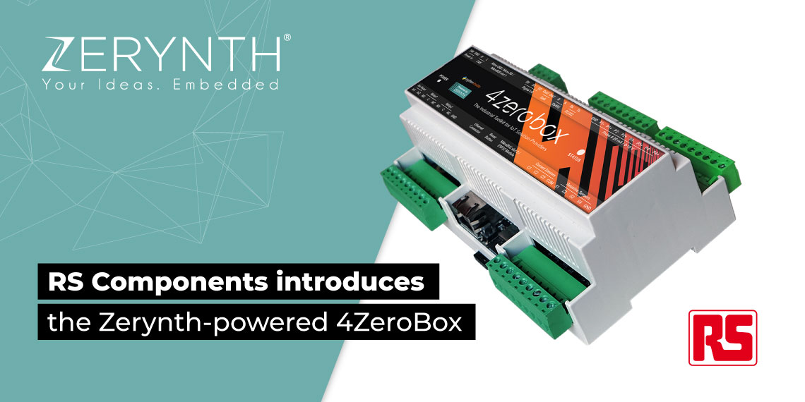 RS Components introduces the Zerynth-powered 4ZeroBox