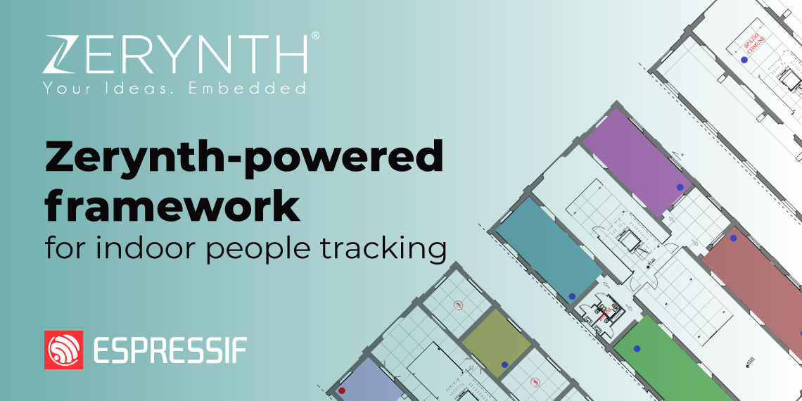 Indoor people tracking Zerynth post