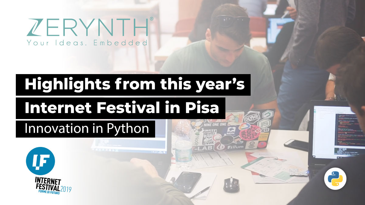 Highlights from this year's Internet Festival in Pisa – Innovation in Python
