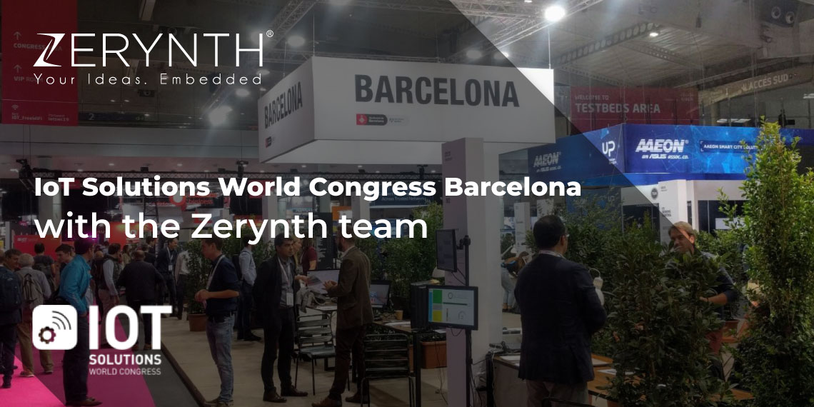 IoT Solutions World Congress Barcelona with the Zerynth team