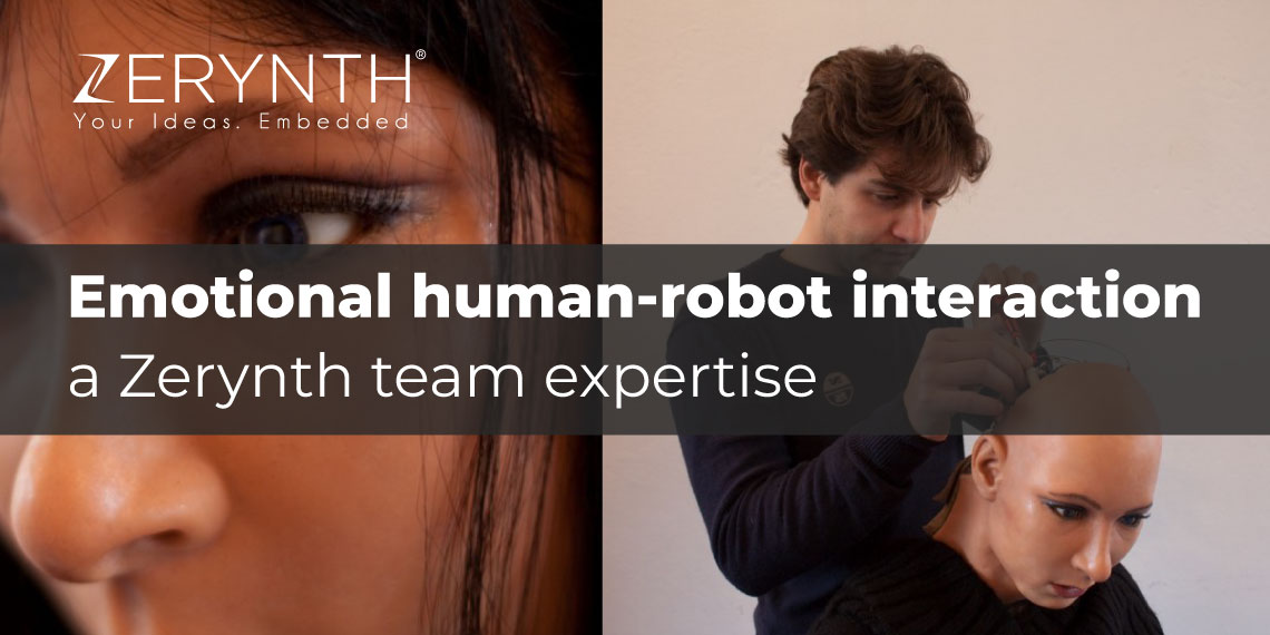 Emotional human-robot interaction – a Zerynth team expertise