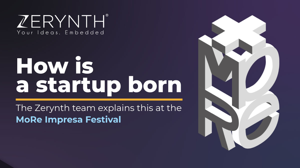 How is a startup born? The Zerynth team explains at the MoRe Impresa Festival