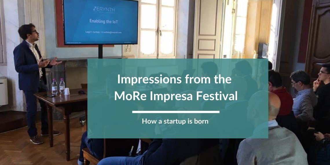 Impressions from the MoRe Impresa Festival