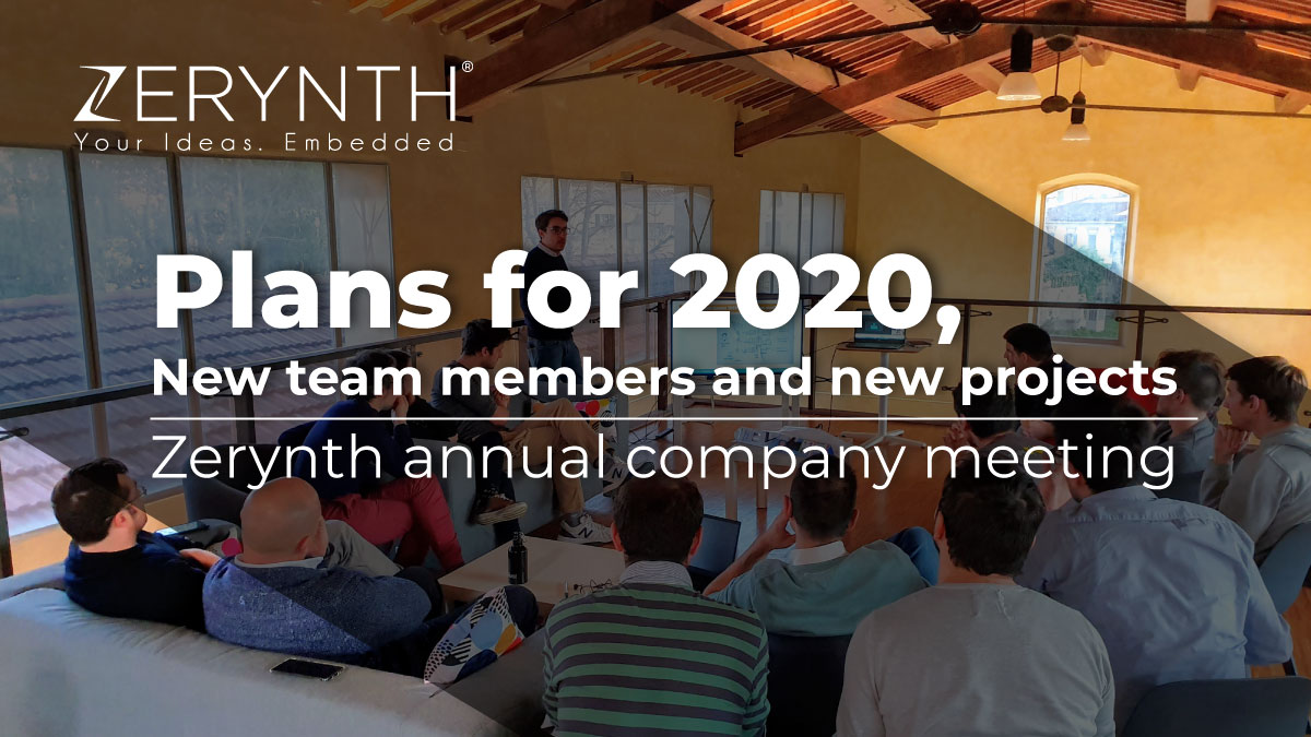 Plans for 2020, new team members and new projects – Zerynth annual company meeting
