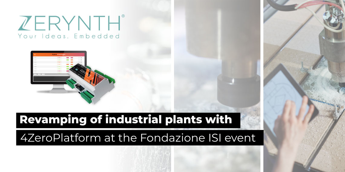 Revamping of industrial plants with 4ZeroPlatform at the Fondazione ISI event