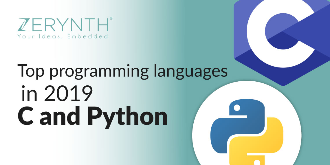 Top programming languages in 2019 – C and Python