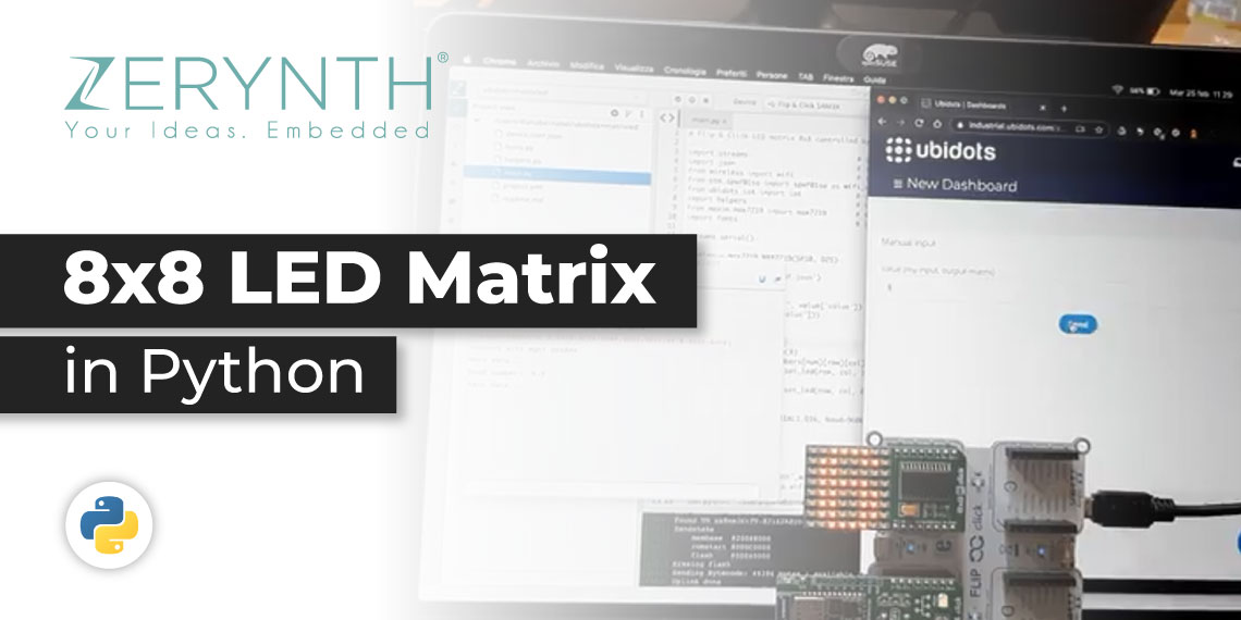 Zerynth LED Matrix post banner