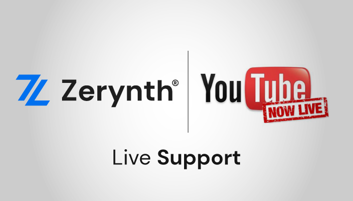 Live Support YouTube Zerynth image
