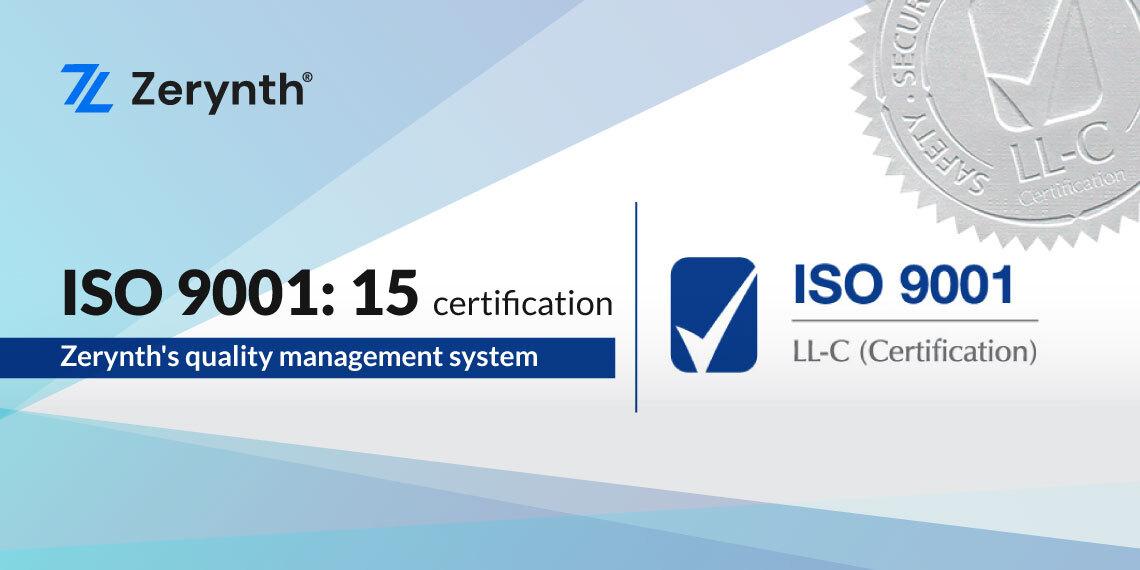 ISO 9001 Zerynth