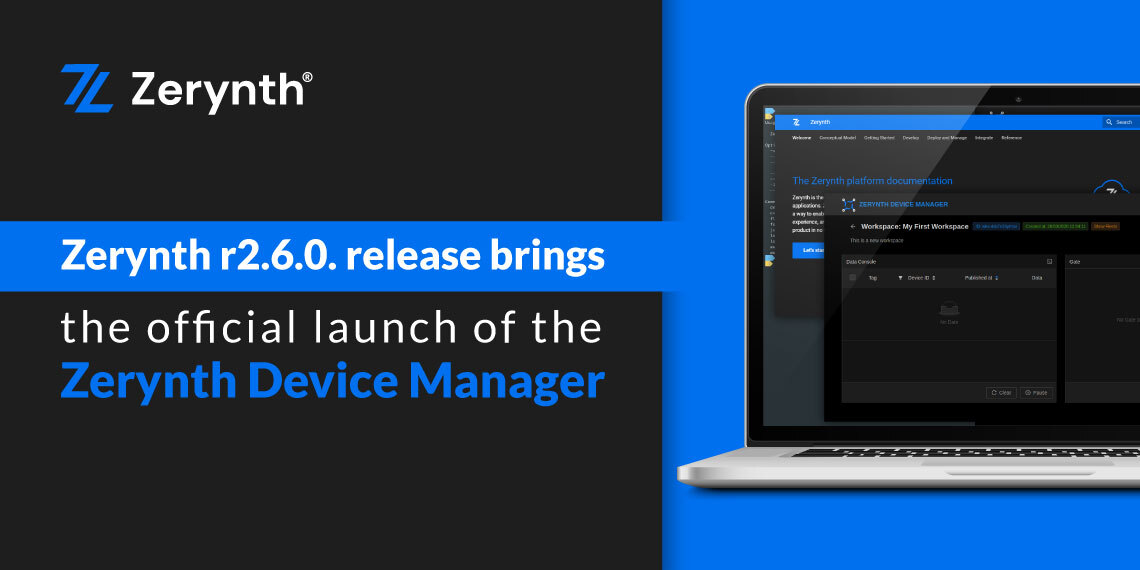 Zerynth Device Manager launch