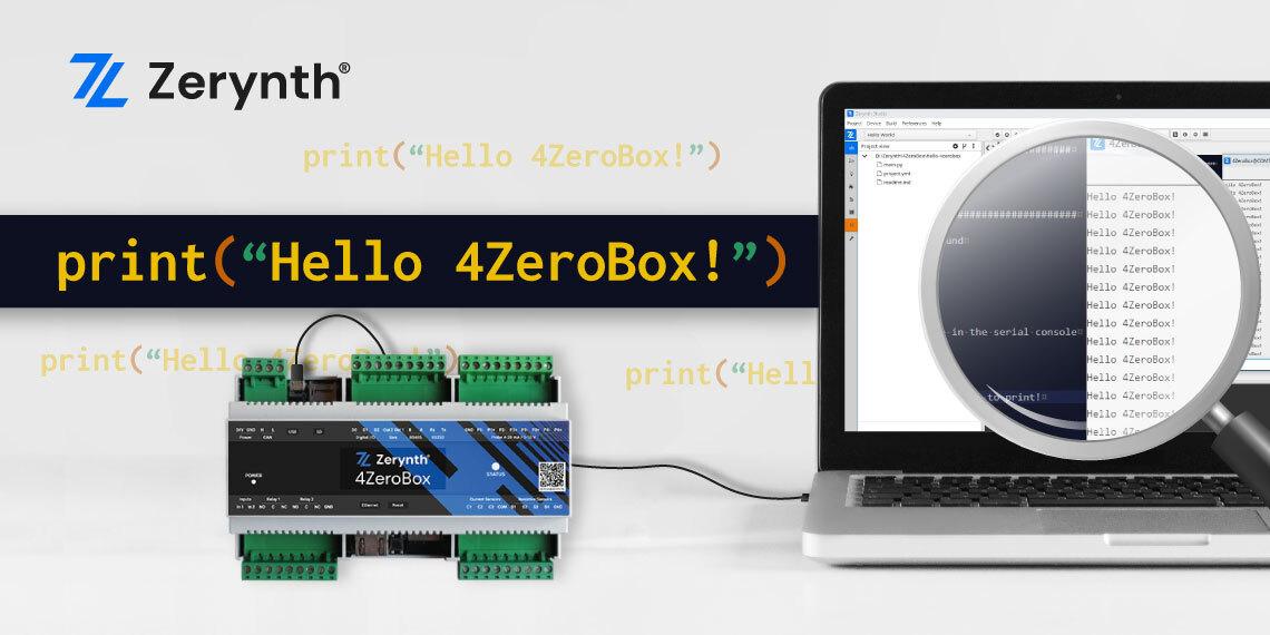 Hello World 4ZeroBox