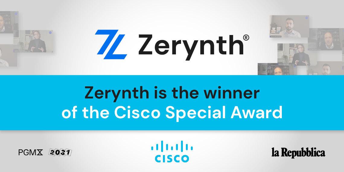 Zerynth Cisco award