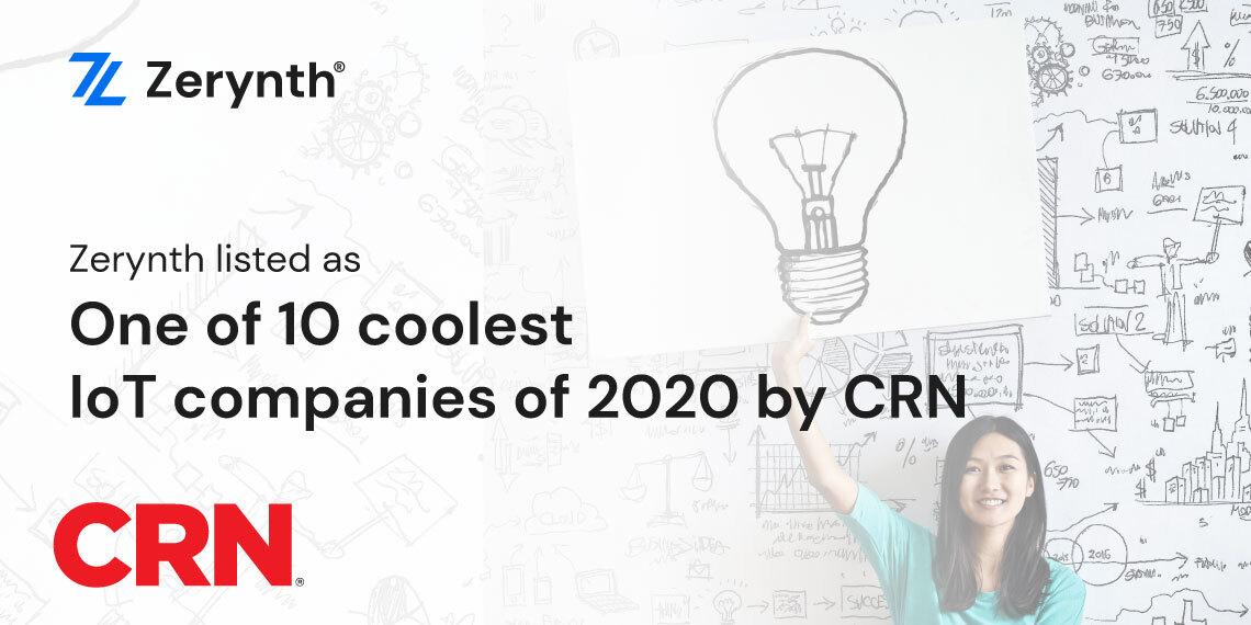 Zerynth coolest in IoT CRN