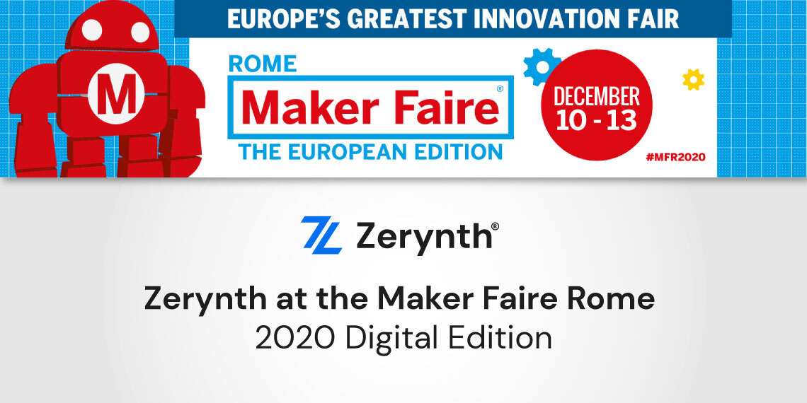 Maker Faire Rome 2020 with Zerynth