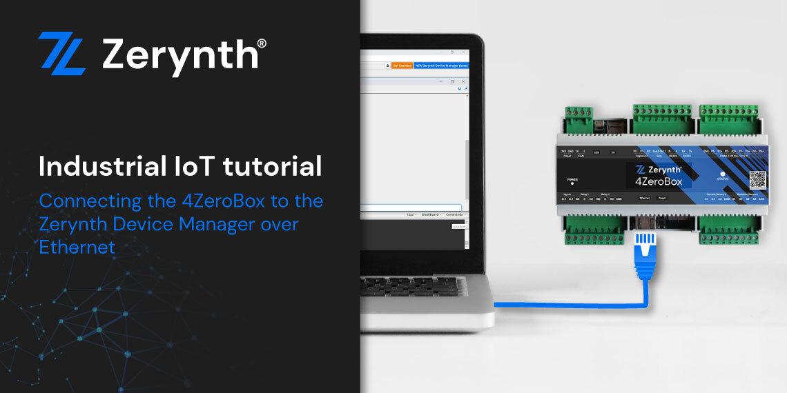 4ZeroBox tutorial Ethernet