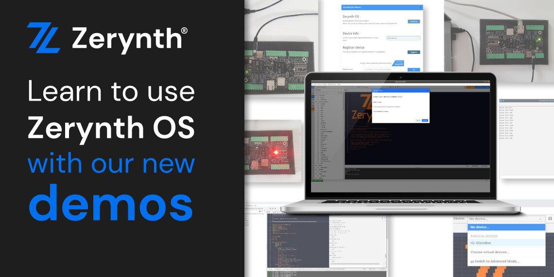 Zerynth OS demos