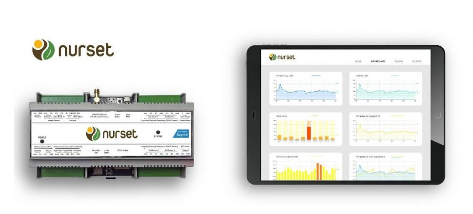 Pierucci - Nurset IoT monitoring plant, case study