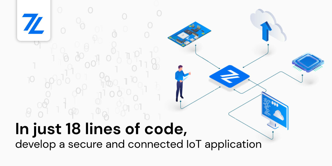 secure connected product - 18 lines of code Zerynth post