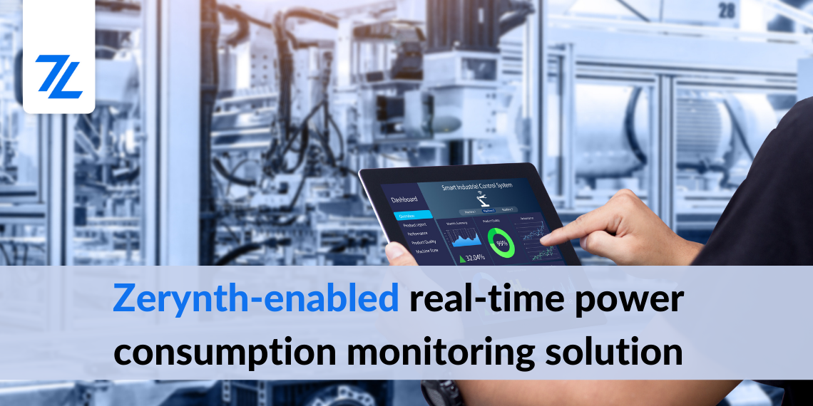real-time power consumption monitoring Zerynth