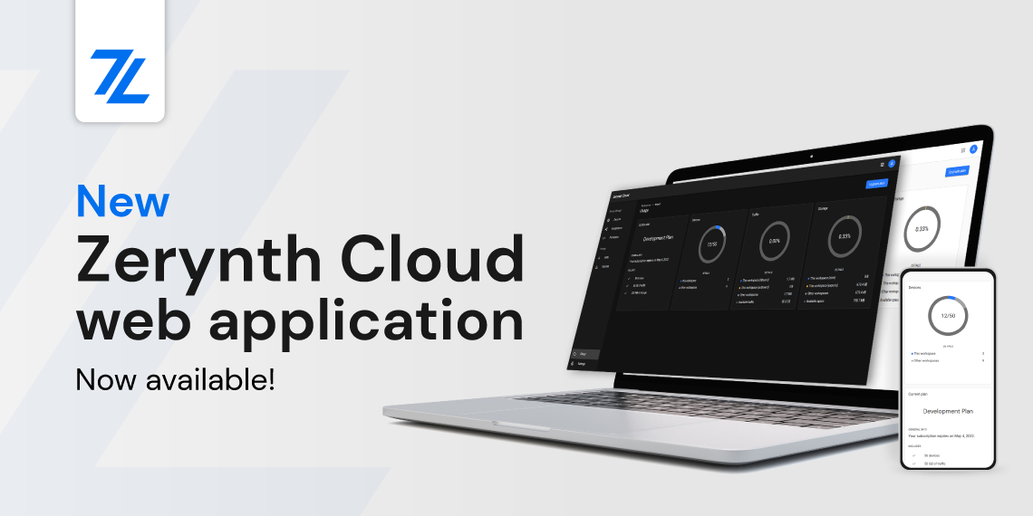 Zerynth Cloud web application
